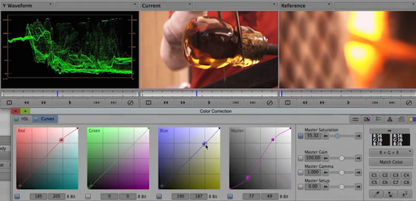 video color grading software