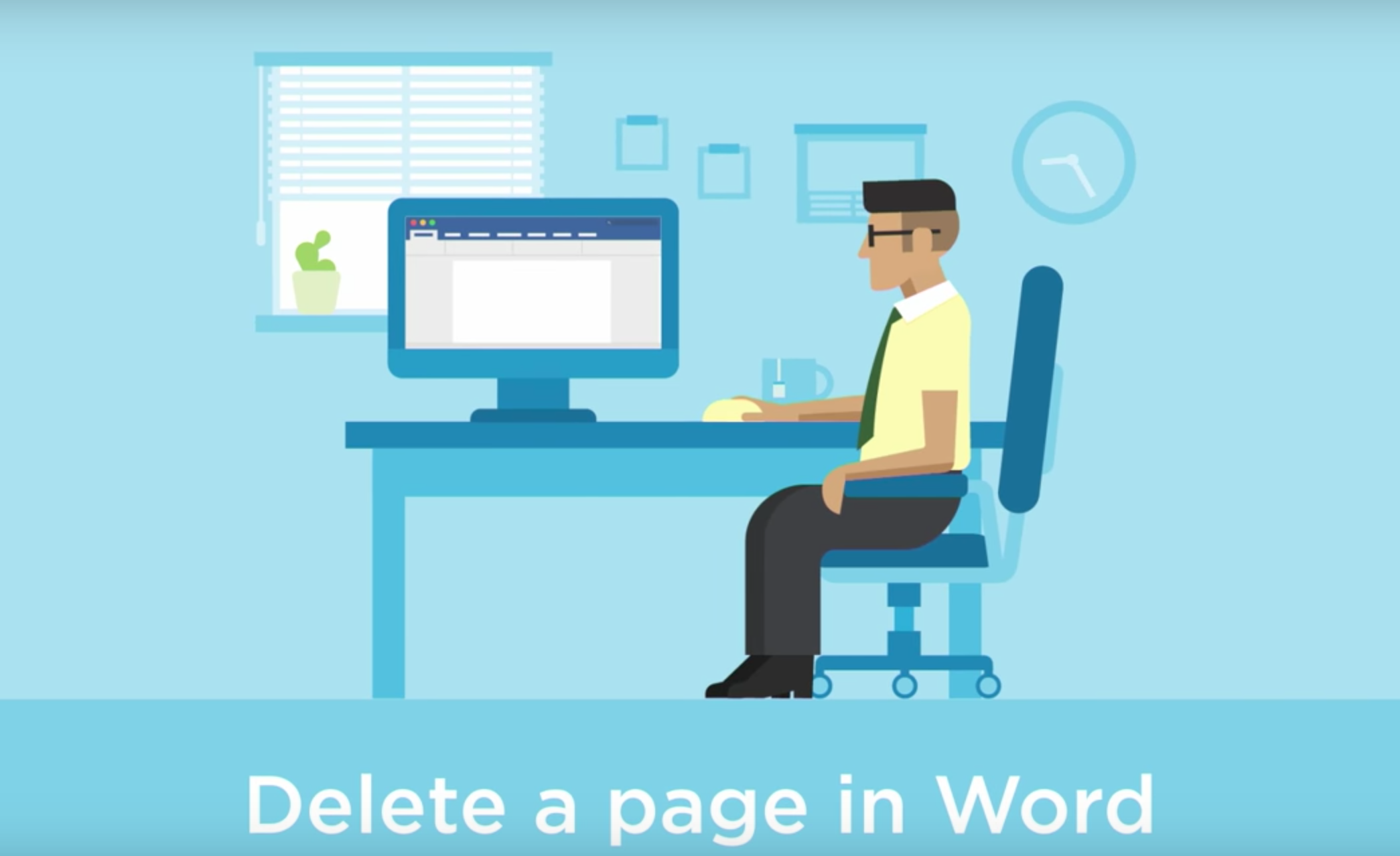The 3 ways to delete a page in word video ccuart Images